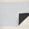 "Chilewich Mini Basketweave Floormat - Sky 35"" x 48"""