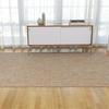 "Chilewich Mini Basketweave Floormat - Pistachio 72"" x 106"""