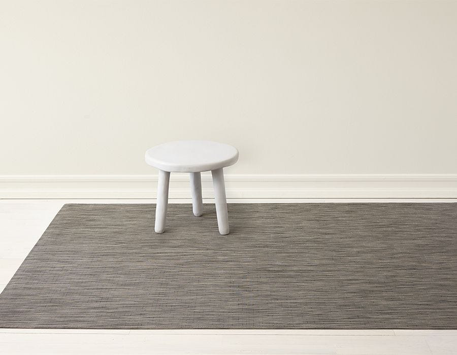 "Chilewich Reed Floormat - Ash 72"" x 106"""