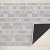 "Chilewich Scout Floormat - Graphite 23"" x 36"""