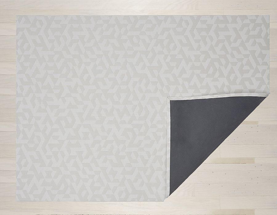 "Chilewich Prism Floormat - Natural 35"" x 48"""