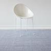 """Chilewich Thatch Floormat - Rain 72"""" x 106"""""""