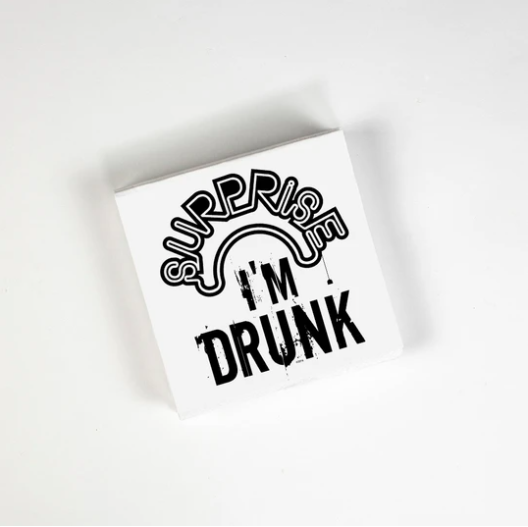 Cocktail Napkins - Surprise Drunk 20 Ct/3 Ply