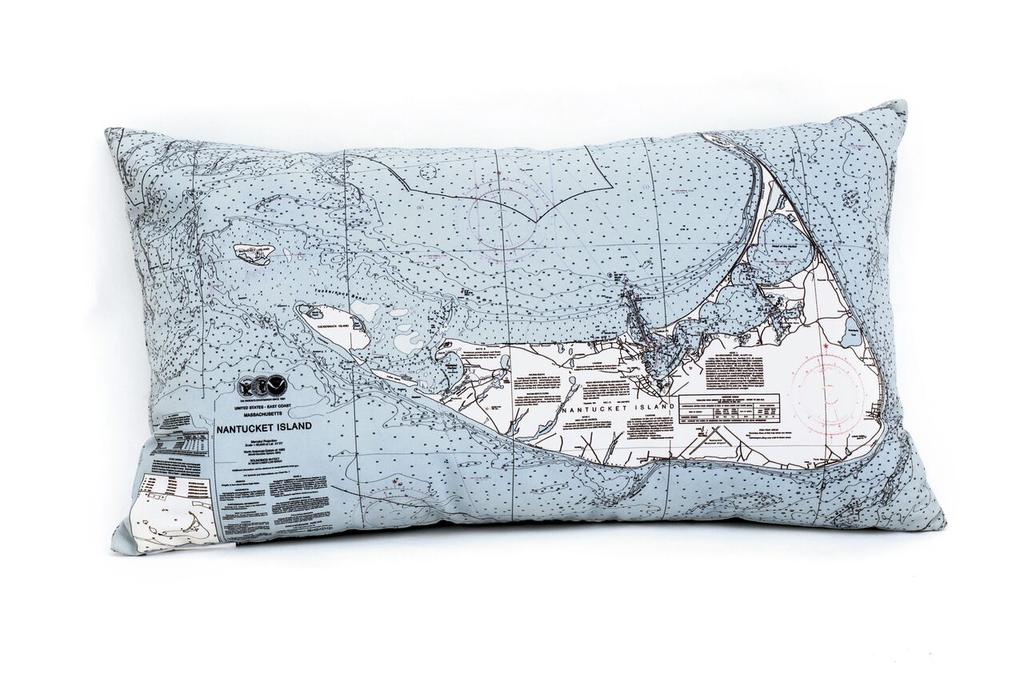 """Nantucket Indoor/Outdoor Pillow 24"""" x 14"""""""