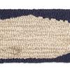 """Moby Dick Horizon Pillow - Blue & White 8"""" x 24"""""""