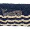 "Wavy Whale Horizon Pillow 8"" x 24"""