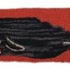 "Whale Black & Red Horizon Pillow - 8"" x 24"""