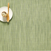 """Chilewich Bamboo Table Mat - Spring Green 14"""" x 19"""""""