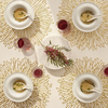 """Chilewich Bloom Table Mat - Gilded Round 15"""""""