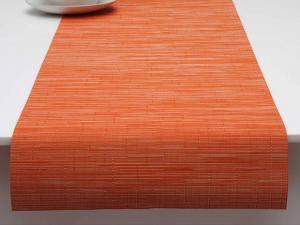 "Chilewich Bamboo Table Runner - Mandarin 14"" x 72"""