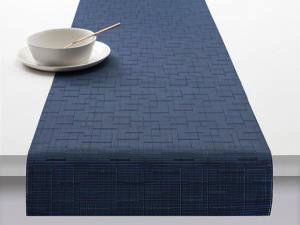 "Chilewich Bamboo Table Runner - Lapis 14"" x 72"""