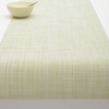 "Chilewich Mini Basketweave Table Runner - Matcha 14"" x 72"""