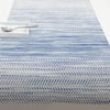 """Chilewich Wave Table Runner - Blue 14"""" x 72"""""""