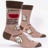 Assholes Everywhere Men's Socks