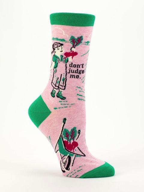 Don't Judge Me Women's Socks