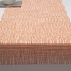 "Chilewich Lattice Table Runner - Citrus Orange 14"" x 72"""