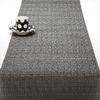 "Chilewich Glassweave Table Runner - Graphite 14"" x 72"""