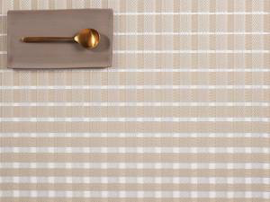 """Chilewich Satin Table Mat - Jute 14"""" x 19"""""""