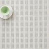 "Chilewich Stitch Table Mat - Jade 14"" x 19"""