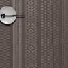 """Chilewich Mixed Weave Luxe Table Mat - Topaz 14"""" x 19"""""""