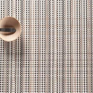 """Chilewich Grid Table Mat - Sand 14"""" x 19"""""""