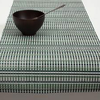 """Chilewich Grid Table Runner - Green 14"""" x 72"""""""