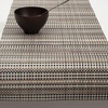 """Chilewich Grid Table Runner - Sand 14"""" x 72"""""""