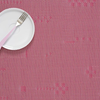 "Chilewich Pixel Table Mat - Raspberry 14"" x 19"""