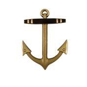 "Anchor Door Knocker - 7""H x 5""W x 1.5""D"