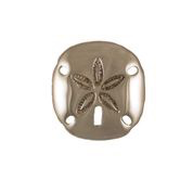 "Sand Dollar Door Knocker - 4.5""H x 4.25""W x 1.5""D"
