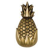 "Hospitality Pineapple Door Knocker - 8.5""H x 4.5""W x 2.5""D"