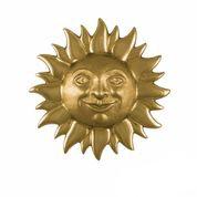 "Smiling Sunface Door Knocker - 6.5""H x 6.5""W x 2""D"