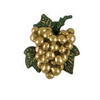 """Grape Cluster Door Knocker - 5.75""""H X 5W X 2""""D"""