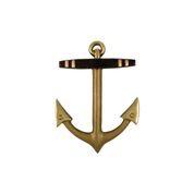 """Anchor Standard Door Knocker - 5""""H x 3.75""""W x 1.25""""D"""
