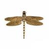 "Dragonfly Standard Door Knocker - 4.5""H x 6.25""W x 1""D"