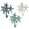 """Starfish Cluster Wall Hook  6 1/8"""" W. x 1 3/4"""" D. x 6 1/2"""" H."""