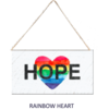Signs of Hope - Rainbow Heart