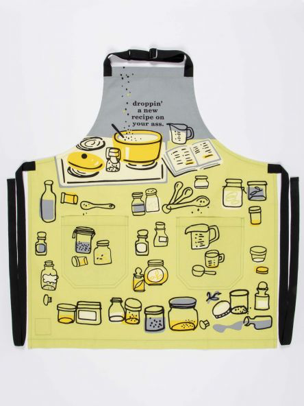 Droppin A New Recipe Apron