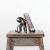 "Cast Iron Octopus Phone/Tablet Stand 6""L x 5.25""W x 4.75""H"