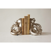 "Resin Octopus Bookends, Silver, Set of 2 7""H"