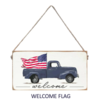 Signs of Hope - Welcome Flag