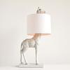 "Resin Giraffe Lamp 13.75""L x 27.75""H"