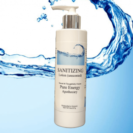 Sanitizing Hand Lotion - Unscented 8oz