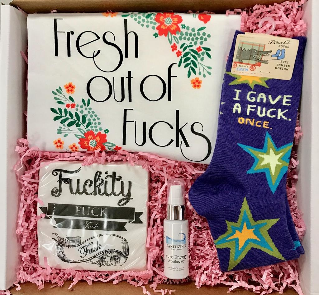"Roots-Gift Box ""No More F*cks"" HERS"