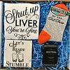 "Roots-Gift Box ""Str8 Guys C19 Survival Kit"""