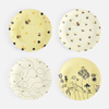 """Busy Bees """"Paper"""" Plate, St/4, 4 Asst, Melamine, 9"""""""