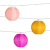 Soji Solar String Lights Peach Bellini (10 piece)