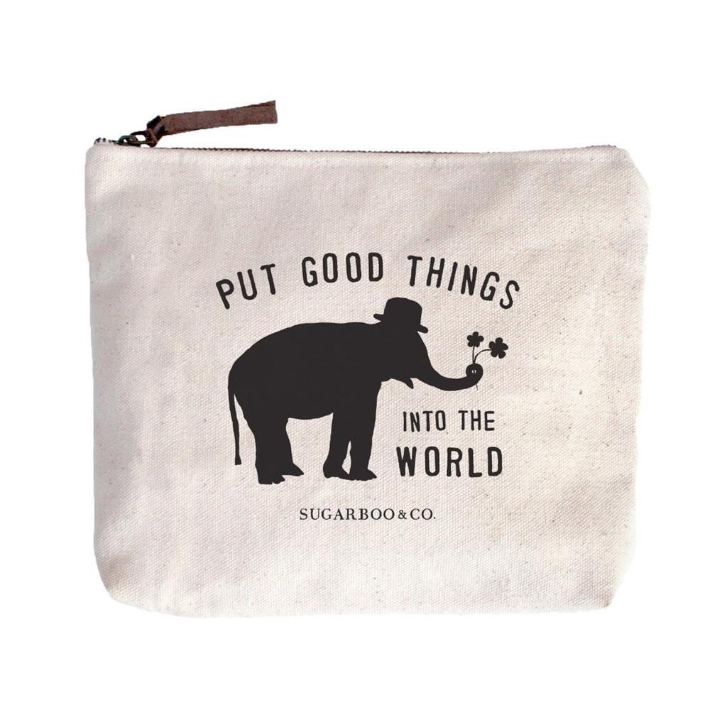 Put Good Things Canvas Bag