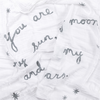 "Swaddle Blanket - You Are My Sun, My Moon 47"" x 47"""