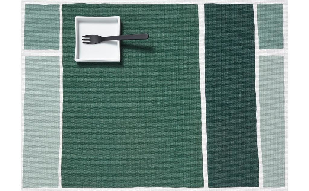 """Chilewich Maptone Table Mat Jade 13.5"""" x 18.5"""""""